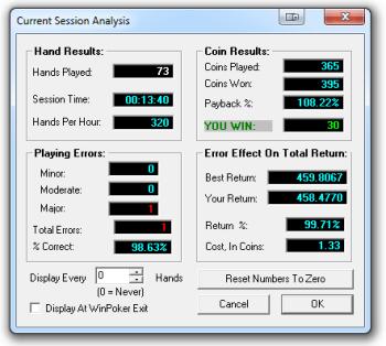 WinPoker - Analyze